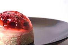 Raspberry Jelly Dessert Stock Image