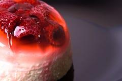 Raspberry Jelly Dessert Royalty Free Stock Images