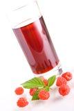 Raspberry juice Stock Image