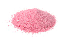 Raspberry Juice Powder Concentrate on White Stock Photo