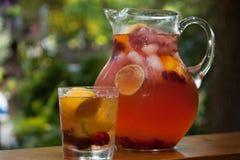 Raspberry Lemonade Royalty Free Stock Photography
