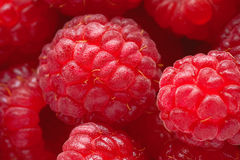 Raspberry macro closeup image Royalty Free Stock Photography