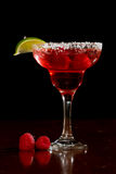 Raspberry margarita Royalty Free Stock Image