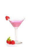 Raspberry Martini Royalty Free Stock Photography