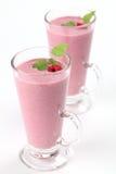 Raspberry milk shake Royalty Free Stock Photos