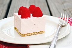 Raspberry Mousse Stock Image