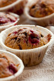 Raspberry muffins Royalty Free Stock Photography