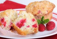 Raspberry Muffins Royalty Free Stock Photo