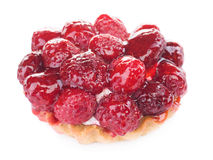 Raspberry pastry Royalty Free Stock Images