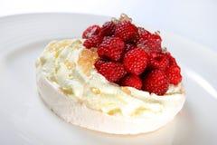 Free Raspberry Pavlova Dessert Stock Image - 20861291