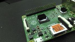 Raspberry Pi. Close-up photo of a Raspberry Pi computer Stock Photos