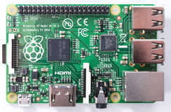 Raspberry Pi (Editorial Image) Royalty Free Stock Photography