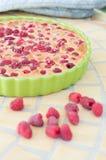 Raspberry pie Stock Photography