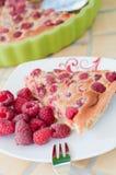 Raspberry pie Stock Image