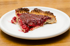 Raspberry pie Stock Photo