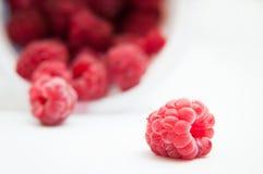 Raspberry and the pile Stock Photos