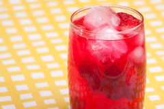 Raspberry Punch Stock Photography