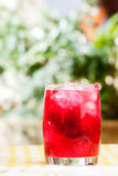 Raspberry Punch Royalty Free Stock Images