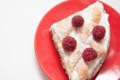 Raspberry quiche Royalty Free Stock Photography