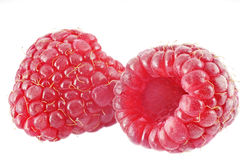 Raspberry real macro Stock Image