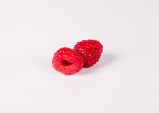 Raspberry. Red beauty Raspberry isolated very much Royalty Free Stock Images
