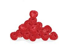 Raspberry. Ripe. Berry. berries Stock Photo