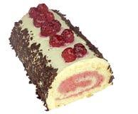 Raspberry roll Stock Photography