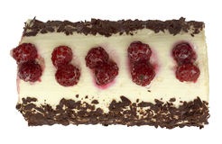 Raspberry roll Royalty Free Stock Image