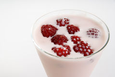Raspberry shake Royalty Free Stock Photo