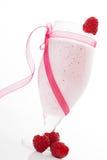 Raspberry shake. Royalty Free Stock Photos