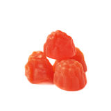 Raspberry shaped candy Stock Photos