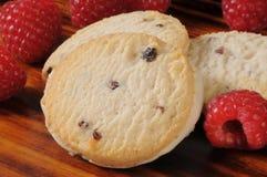 Raspberry shortbread cookies Royalty Free Stock Photo