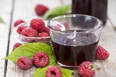 Raspberry Sirup Stock Photography