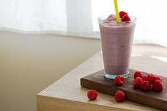 Raspberry Smoothie Royalty Free Stock Photos