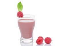 Raspberry Smoothie Stock Photos