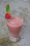 Raspberry Smoothie Stock Image