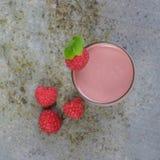 Raspberry Smoothie Royalty Free Stock Photo