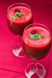 Raspberry smoothie Stock Image