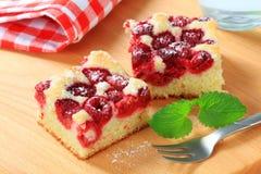 Free Raspberry Sponge Cake Slices Stock Images - 60833714