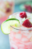 Raspberry Spritzer royalty free stock photography