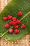 Raspberry still life. Royalty Free Stock Image