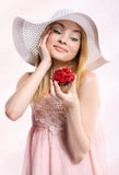 Raspberry surprise Stock Image