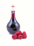 Raspberry syrup Royalty Free Stock Photo