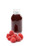 Raspberry syrup Royalty Free Stock Image