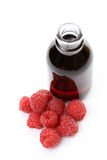 Raspberry syrup Royalty Free Stock Images