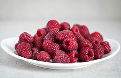 Raspberry on the table. Ripe Raspberry on the table Stock Image