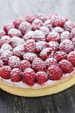 Raspberry tart Royalty Free Stock Photography