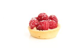 Raspberry tart Royalty Free Stock Photo