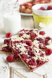 Raspberry tart Royalty Free Stock Photography