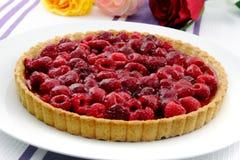 Raspberry tart - Himbeertarte Stock Photography